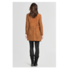 ZINGA Leather HELENA 2400 Suede Lange blazer
