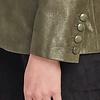 ZINGA Leather JULIA 9210 metallic suede blazer