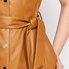 ZINGA Leather Dress real leather women cognac | Suze 5300