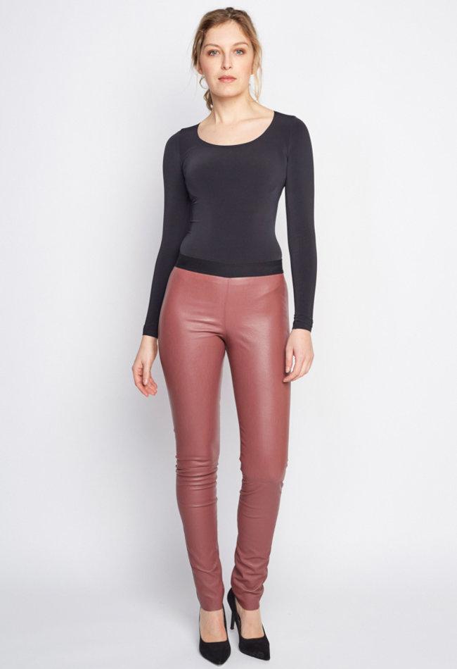 ZINGA Leather Echt leer legging dames | Uma 6230