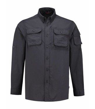 Life-Line Guide Men's Shirt - Dark Grey