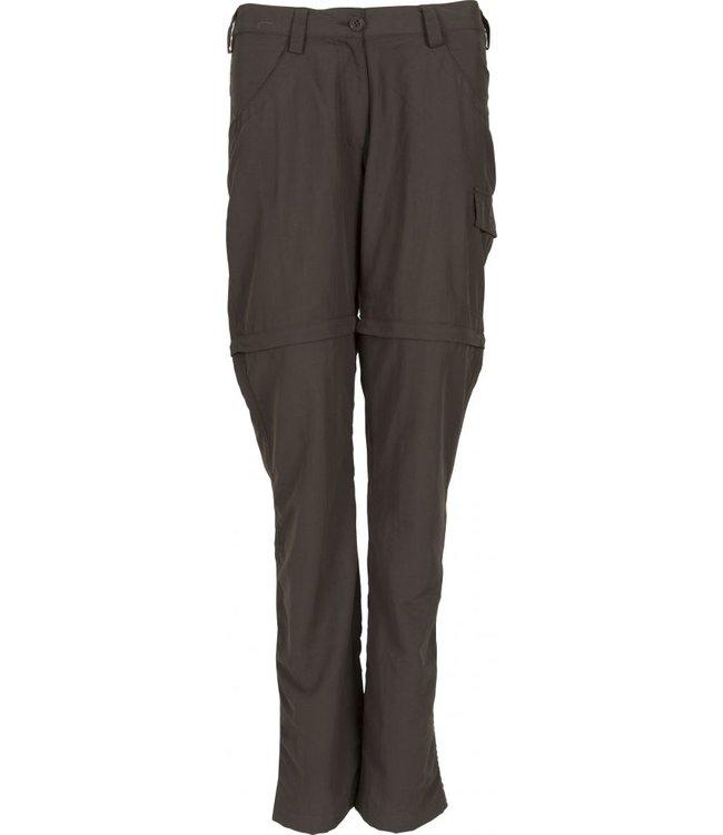 Life-Line Linna ladies zip-off trousers - Grey