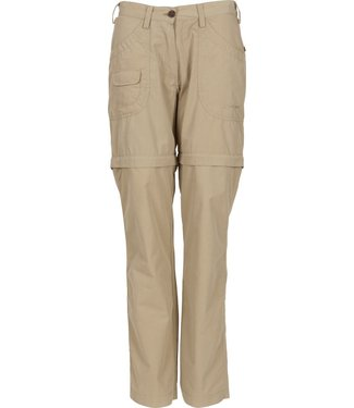 Life-Line Banata 2 Ladies zip off pants - Beige