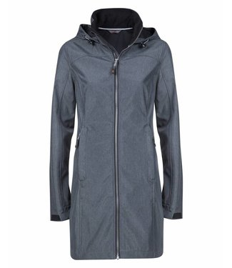 Life-Line Lanta Ladies Softshell coat - Grey