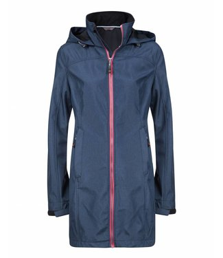 Life-Line Lanta Ladies Softshell coat - Blue
