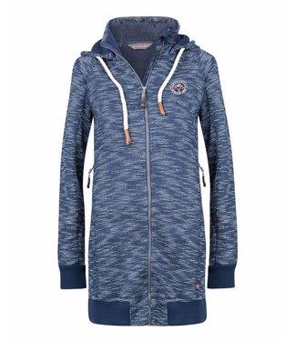Life-Line Lutra Dames Fleece parka - Blauw