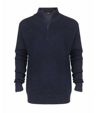Life-Line Portside Herren Sweater - Blau