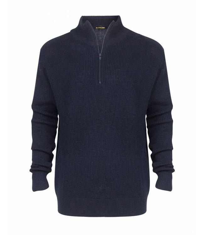 Life-Line Portside Heren Sweater - Blauw