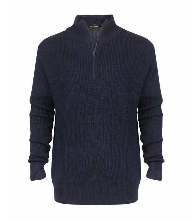 Life-Line Portside Mens Sweater - Blue