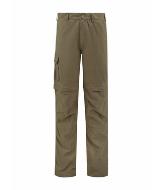 Life-Line Sutton Men's Zip-Off trousers - in Green
