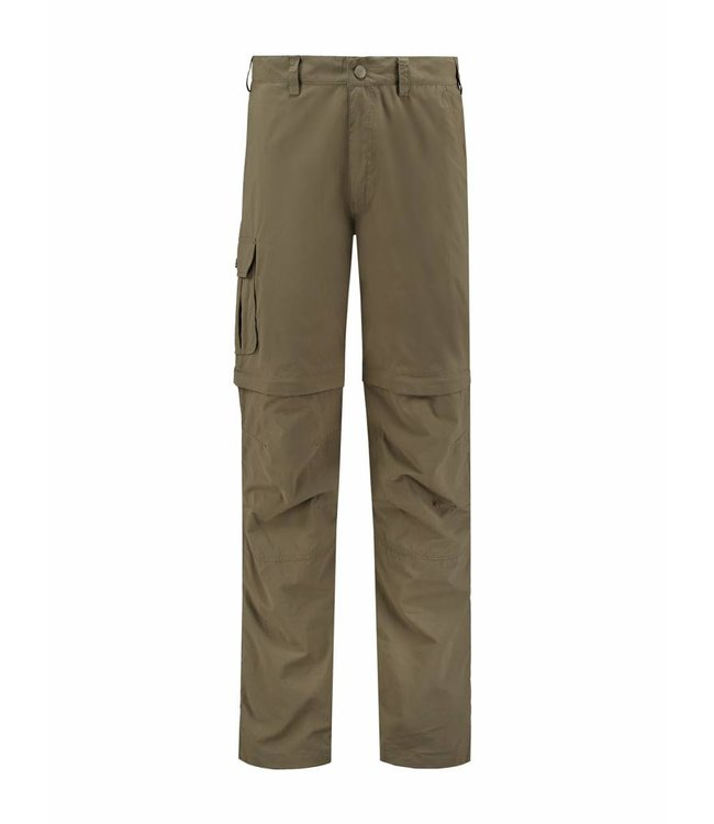 Life-Line Sutton Men's Zip-Off trousers - Green