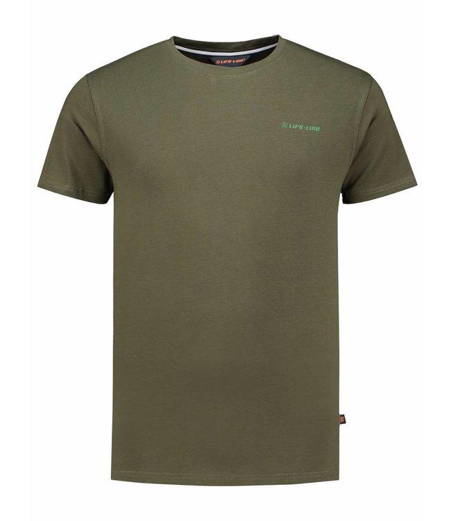 Life-Line Forest Heren T-Shirt - Groen