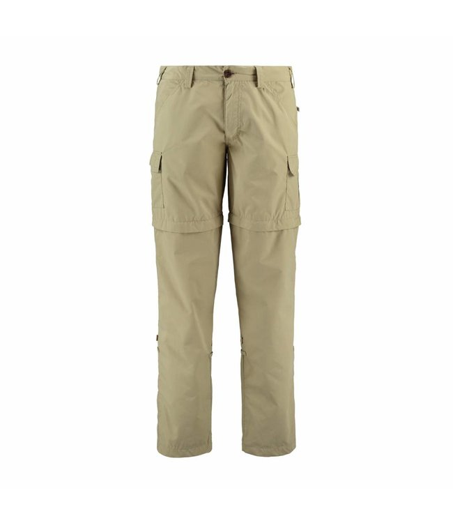 Life-Line Pine 2 Mens zip off pants - Beige