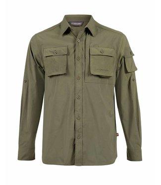 Life-Line Jowan Heren Overhemd - Groen
