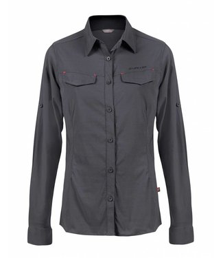 Life-Line Jessica Ladies Blouse - Dark Grey