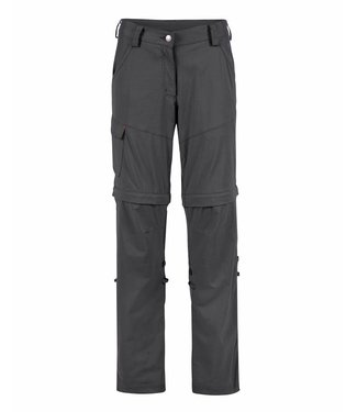 Life-Line June Damen Zip-off hose - Dunkelgrau