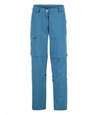 Life-Line June Dames Zip-off Pants - Blauw