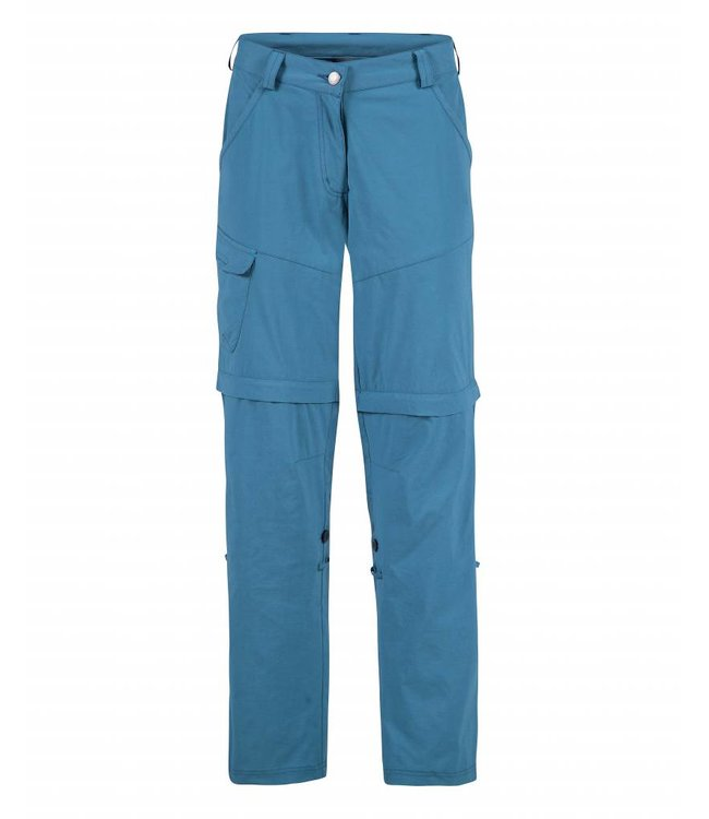 Life-Line June Dames Zip-off Pants - Blauw