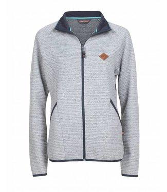Life-Line Jade Women's Sweat Fleece Jacket - Grey
