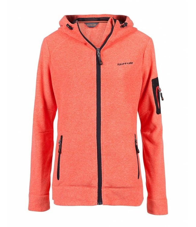 Life-Line Jessie ladies fleece jacket - Coral pink