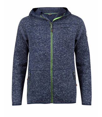 Life-Line Jethro Heren Fleece Jas - Navy