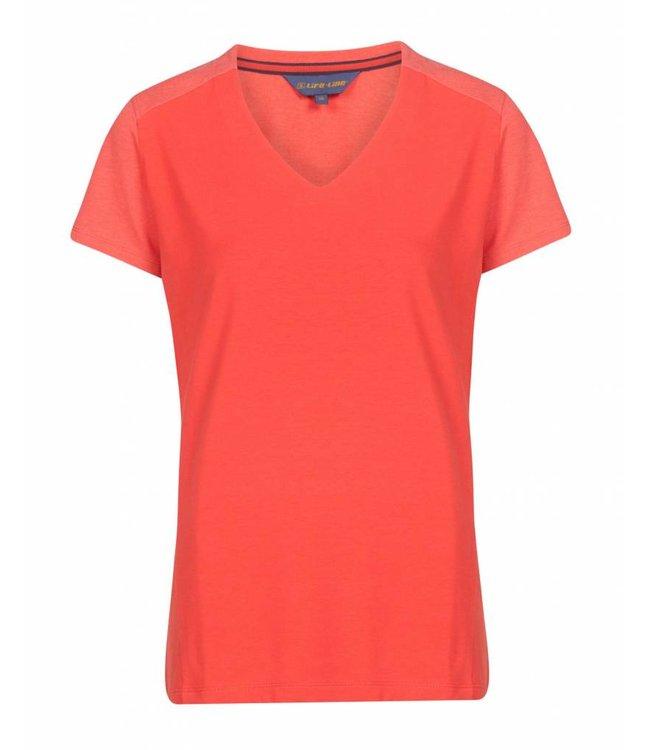 Life-Line Julie Dames T-Shirt - Roze