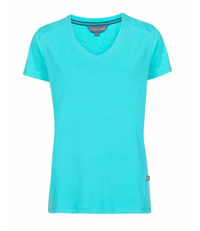 Life Julie Turquoise In Dames Line T Shirt xry08wPrqR