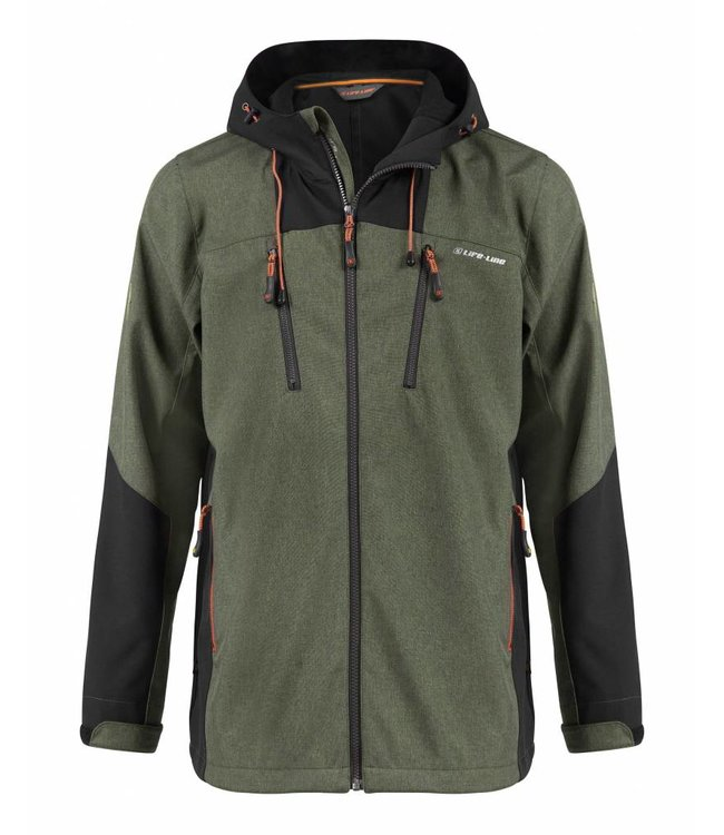 Life-Line Jake Men's Softshell Jacket - Green