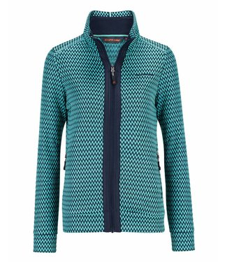 Life-Line Jester Women's Fleece Vest - Blue