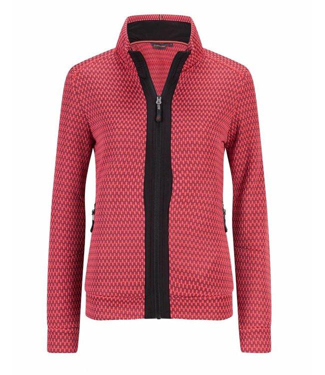 Life-Line Jester Women's Fleece Vest - Pink