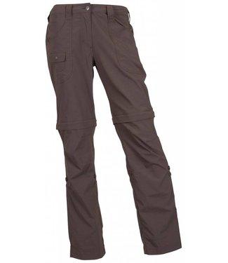Life-Line Cortederia Ladies Zip- Off Pants - Darkbrown
