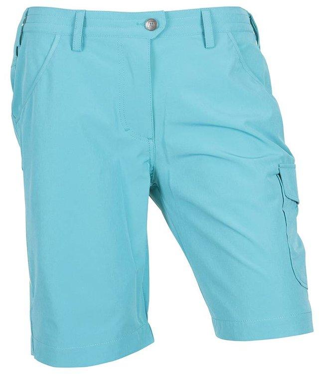 Outdoor Korte Broek Dames.Life Line Halli Stretch Korte Broek Dames Kleur Turquoise Life Line