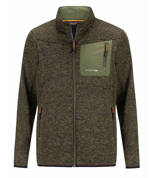 Life-Line Rytido Fleece Vest Mens - Dark green