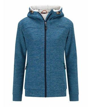 Life-Line Rubra Dames Gevoerde Fleece Vest - Blauw