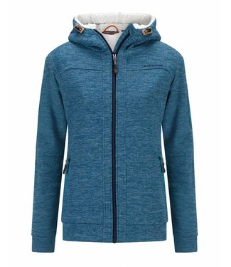 Life-Line Rubra Ladies Lined Fleece Vest - Blue