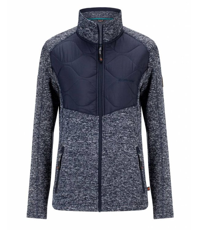 Life-Line Rata Ladies Fleece Vest - Dark Blue