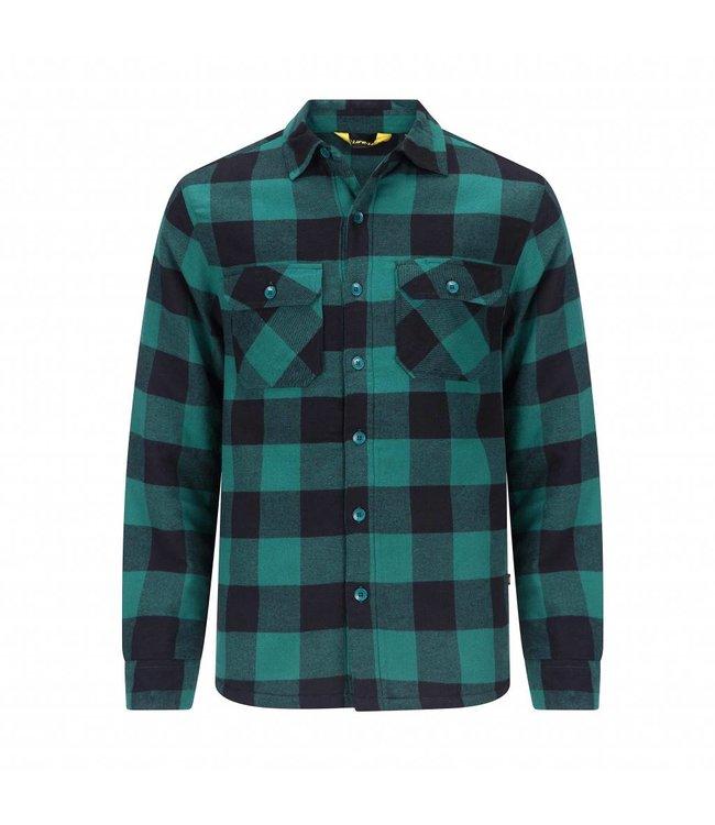 Life-Line Joris Lined Hemd Mens - Green