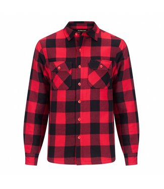 Life-Line Joris Lined Hemd Mens - Red