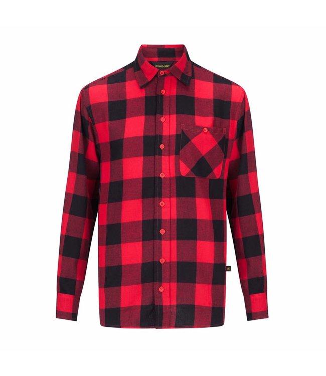 Life-Line Harry Herren Longsleeve Shirt - Rot
