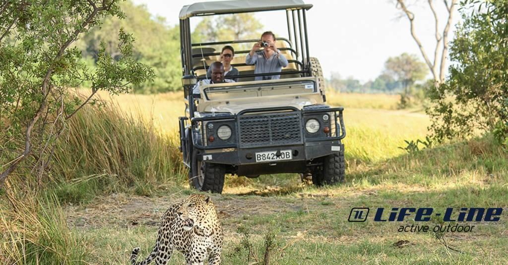 Kleding tijdens safari