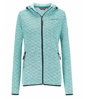 Life-Line Mount Damen Fleece Weste - Blau