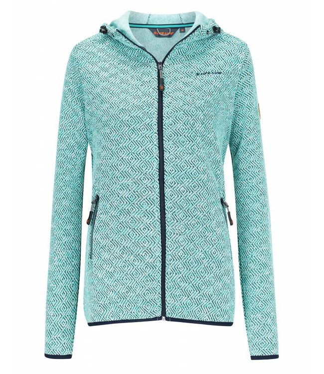 Life-Line Mount Hooded Ladies Fleece Jacket