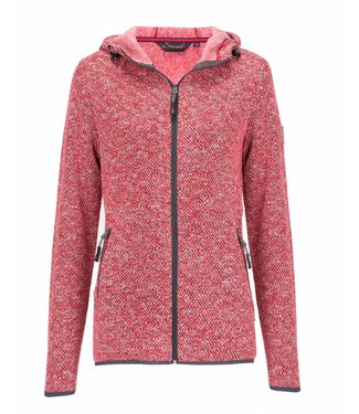 Life-Line Mount Ladies Fleece Jacket - Red