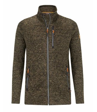 Life-Line Pinedale Mens Fleece Jacket - Dark Green