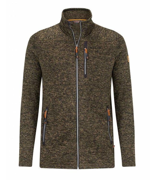 Life-Line Pinedale Mens Fleece Jacket - Dark Green