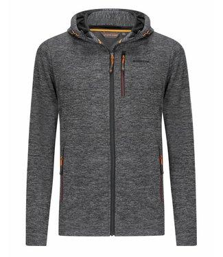Life-Line Riod Heren Fleece Vest - Zwart