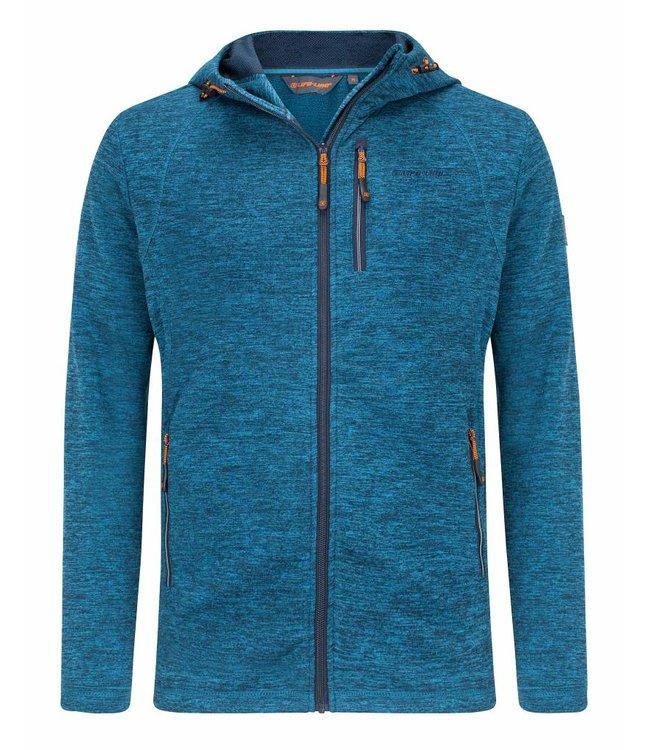 Life-Line Riod Hooded Mens Jacket - Dark blue