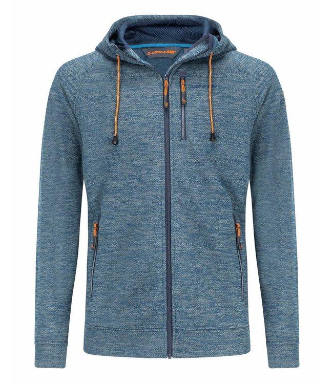 Life-Line Riverland  Mens Fleece jacket - Dark blue