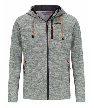 Life-Line Riverland  Mens Fleece jacket - Grey