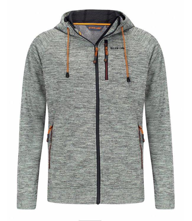 Life-Line Riverland  Mens Fleece jacket - Grey